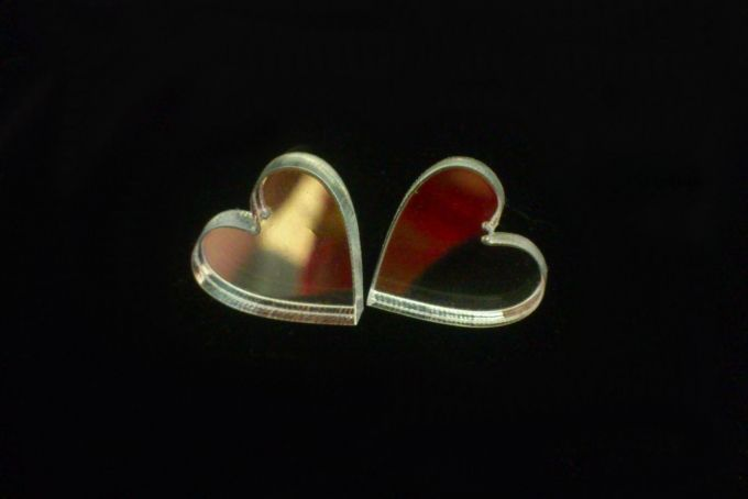 Heart Earring - Studs by eRa Jewelry