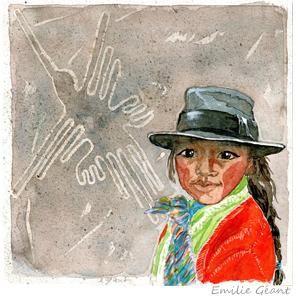 Les lignes de Nazca - Pérou by Emilie Geant