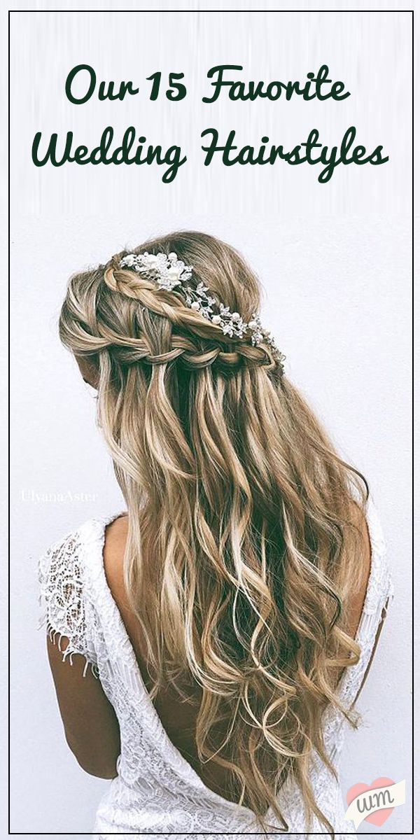 Whether you're into boho braids or classic updo's - there's a hairstyle for every bride's style on this list!