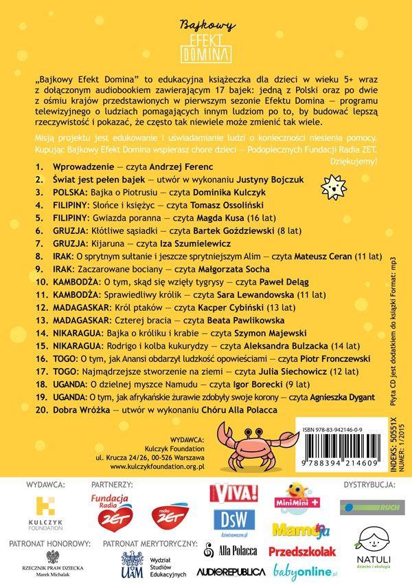 Bajkowy Efekt Domina książeczka + CD