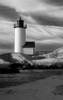 Annisquam light house in Cape Ann MA