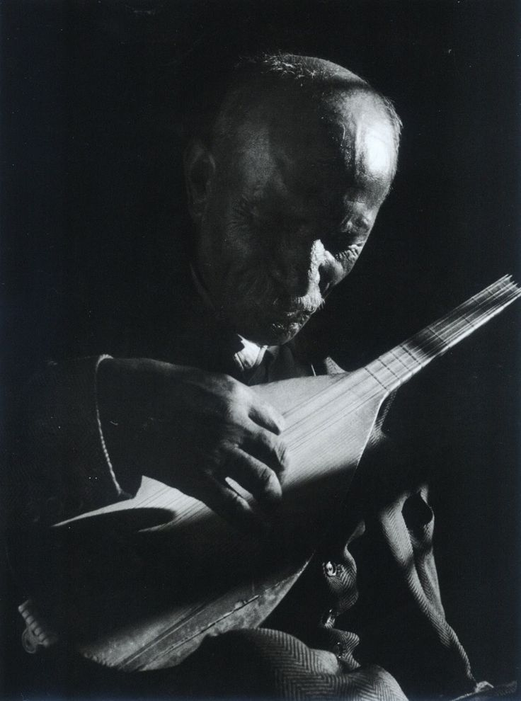 Aşık Veysel by Ara Güler, 1956