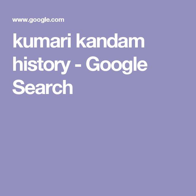 kumari kandam history - Google Search