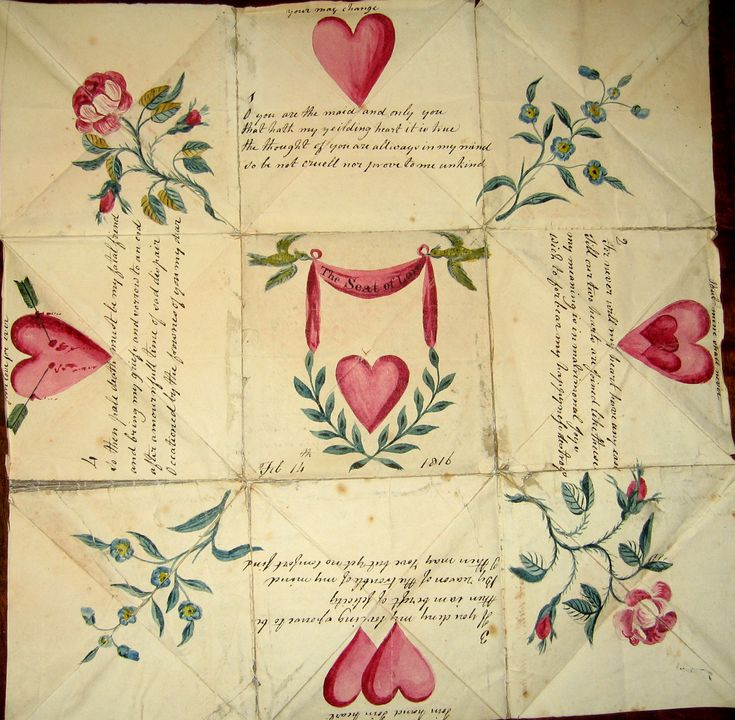 How to make Victorian Puzzle Valentine