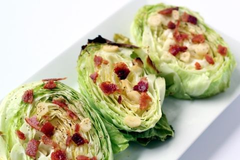 Pinned it, tried it, loved it! Will be making this bacon and garlic cabbage again!