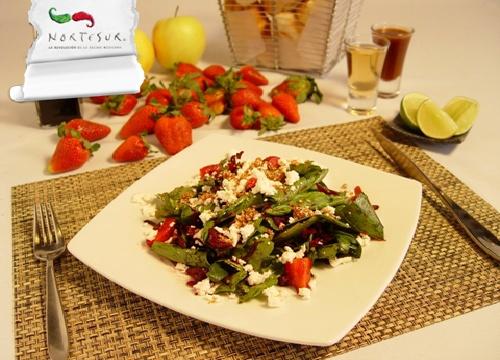 Ensalada de Flor de Jamaica: Rica Ensalada, Salad, Estes Calor, Este Calor, For These