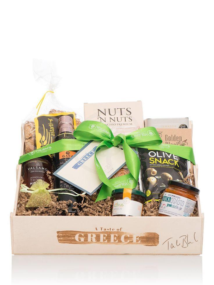 Taste of Greece large gift basket