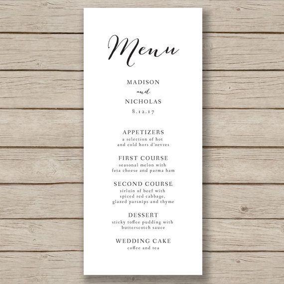 11 best Menu Ideas images on Pinterest Free printables - free cafe menu templates for word