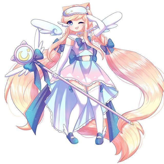 Senpaibuns On Instagram Goddess Buns Uwu Gachaverse Lunime Gachalife Senpaibuns Animeart Animeartist Goddess Mag Cute Drawings Anime Sketch Anime