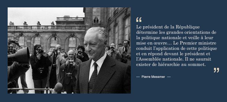 Pierre Messmer présente le programme nucléaire en France