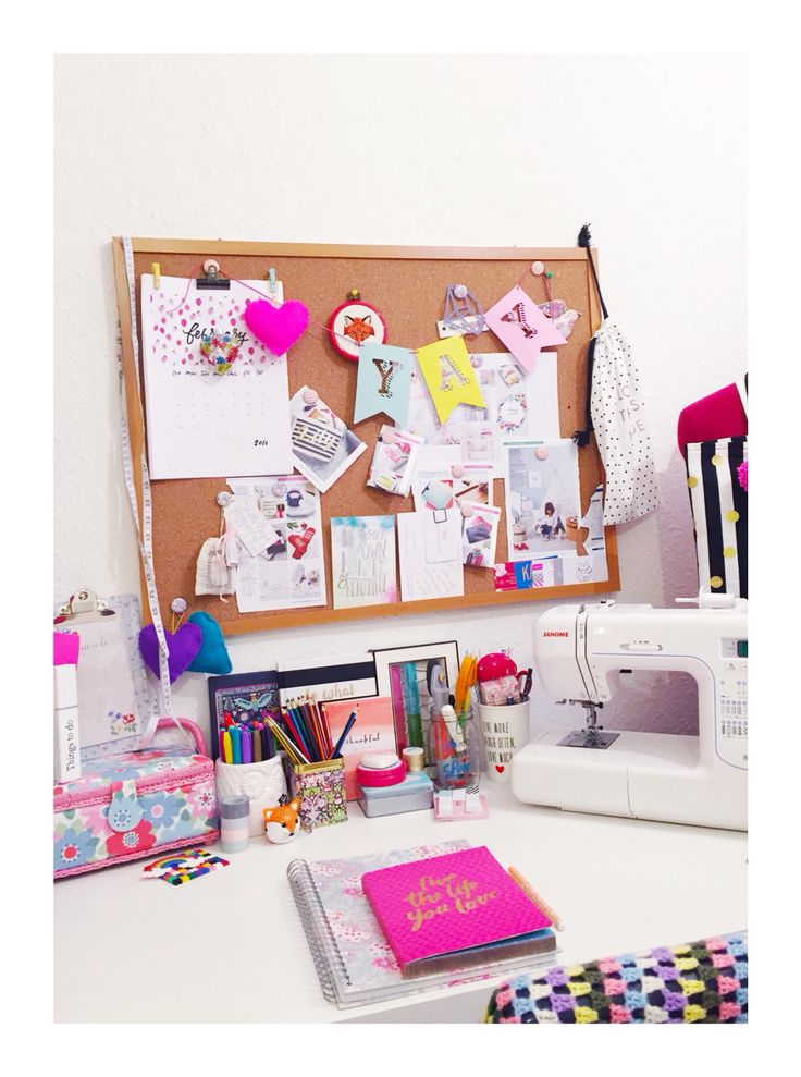 My sewing room #fantasticcraftyfox