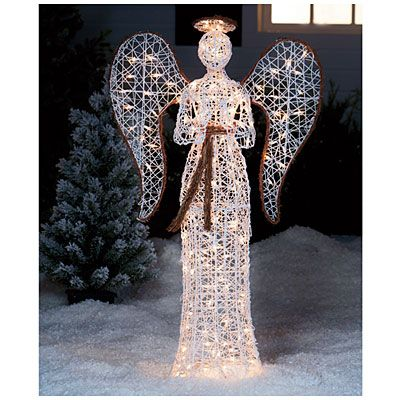 54 Grapevine Praying Angel At Lots Yard Decorationsholiday Decorationschristmas Lightsmerry