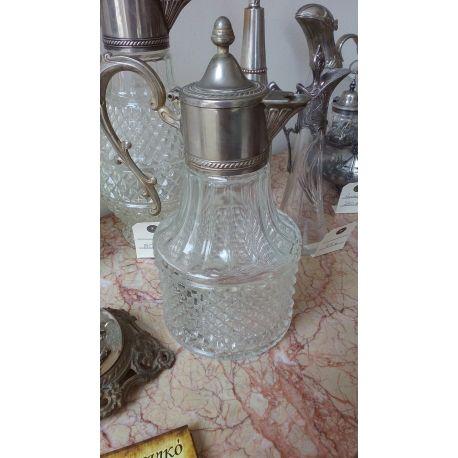 Sheraton Carafe Silver plated & Glass