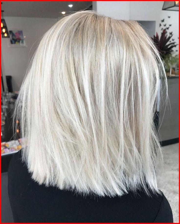 Gentle Ash Blonde Brief Hairstyles