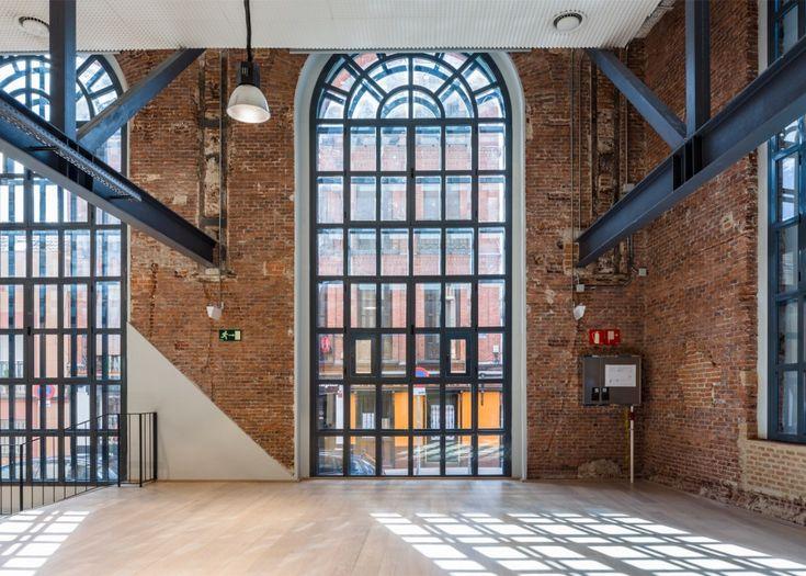 De nieuwe Google campus zit in een oude fabriek van Madrid - Roomed | roomed.nl