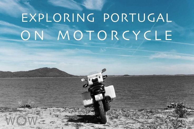 Exploring Portugal On Motorcycle - via Wow Travel 08.08.2015 | We set the bags on the bike, and we are ready to start our trip, which is always an adventure in search of the beautiful and the unknown. #lisbon #centro #portugal #travel #tips
