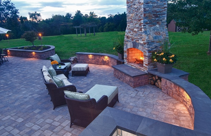 If I had this in my backyard & I lived somewhere with lovely weather, I would probably pretty much live in my backyard.