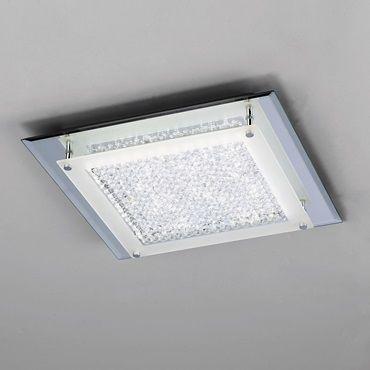 Plafón LED cuadrado de superficie para salón , dormitorio u Oficina. Su elegancia la puedes apreciar en el video de este Plafón de techo .
