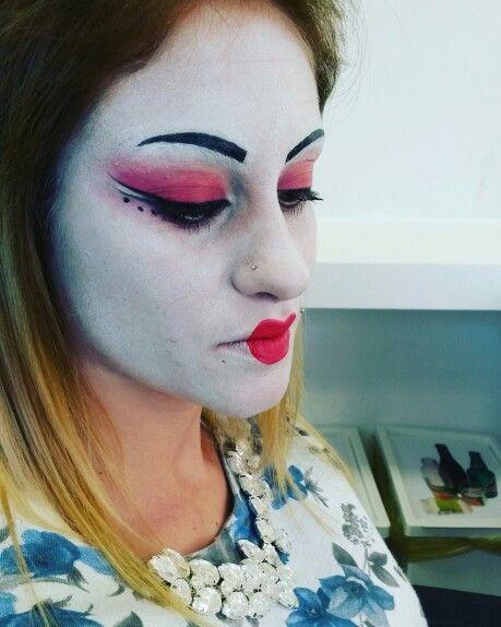 Trucco geisha
