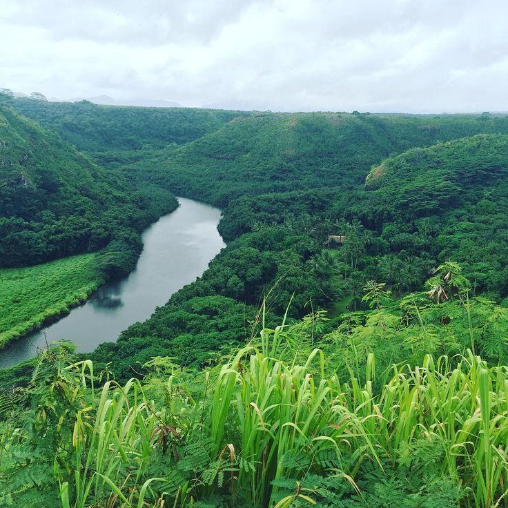 "Scenes from ""Outbreak"" filmed here at Wailua River, Kauai"