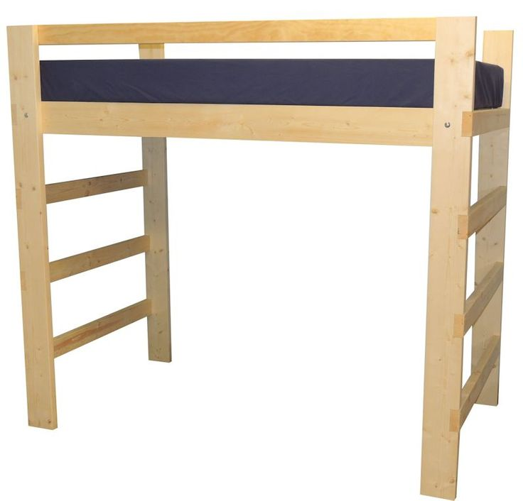how to make a bunk bed into a loft bed