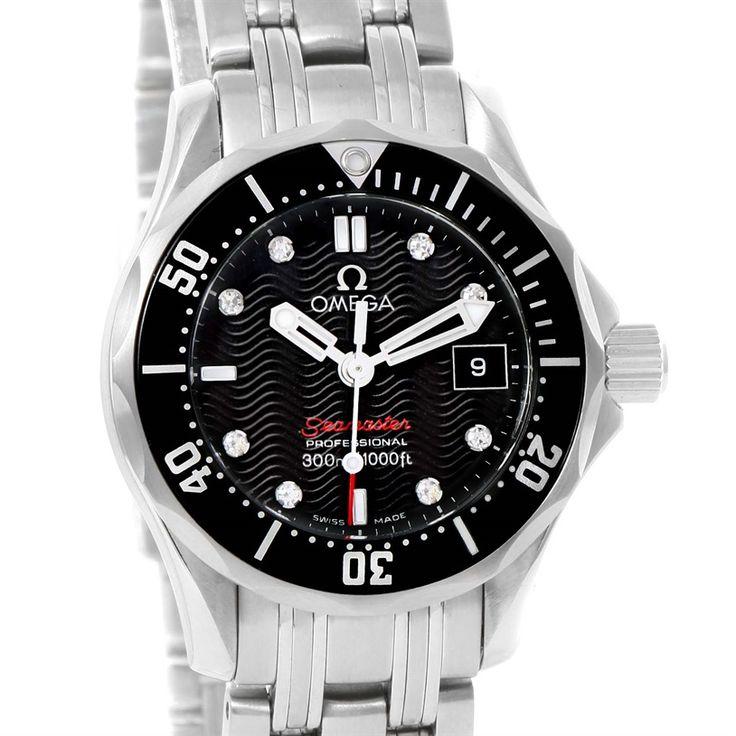 Omega Seamaster Professional Diamond Ladies Watch 212.30.28.61.51.001