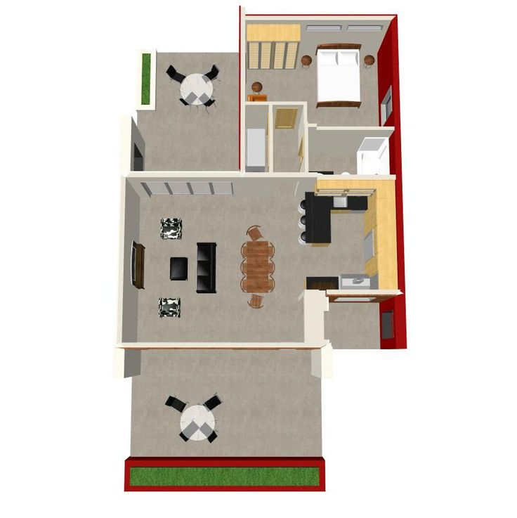 Casita Plan Small Modern House Plan House Plans Small