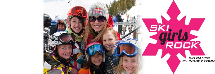 Ski Girls Rock, a new premium lesson product inspired and designed by Olympic gold medalist and World Alpine Ski Champion Lindsey Vonn, is exclusively for girls ages 7 to Teen at Vail Mountain on February 16-22, 2013 and March 10-31, 2013.