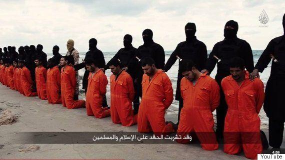 ダーイシュ(イスラム国)のグループ、キリスト教系のエジプト人21人を殺害する動画を公開