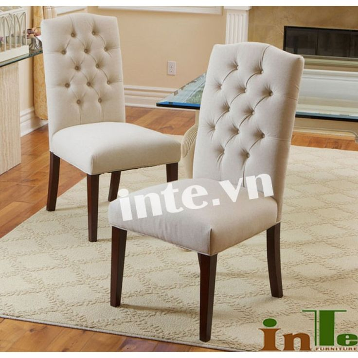 a3ace69d70ff558085b8eb2b5f2598e3  tufted dining chairs fabric dining chairs - Better Homes And Gardens Parsons Tufted Dining Chair Beige