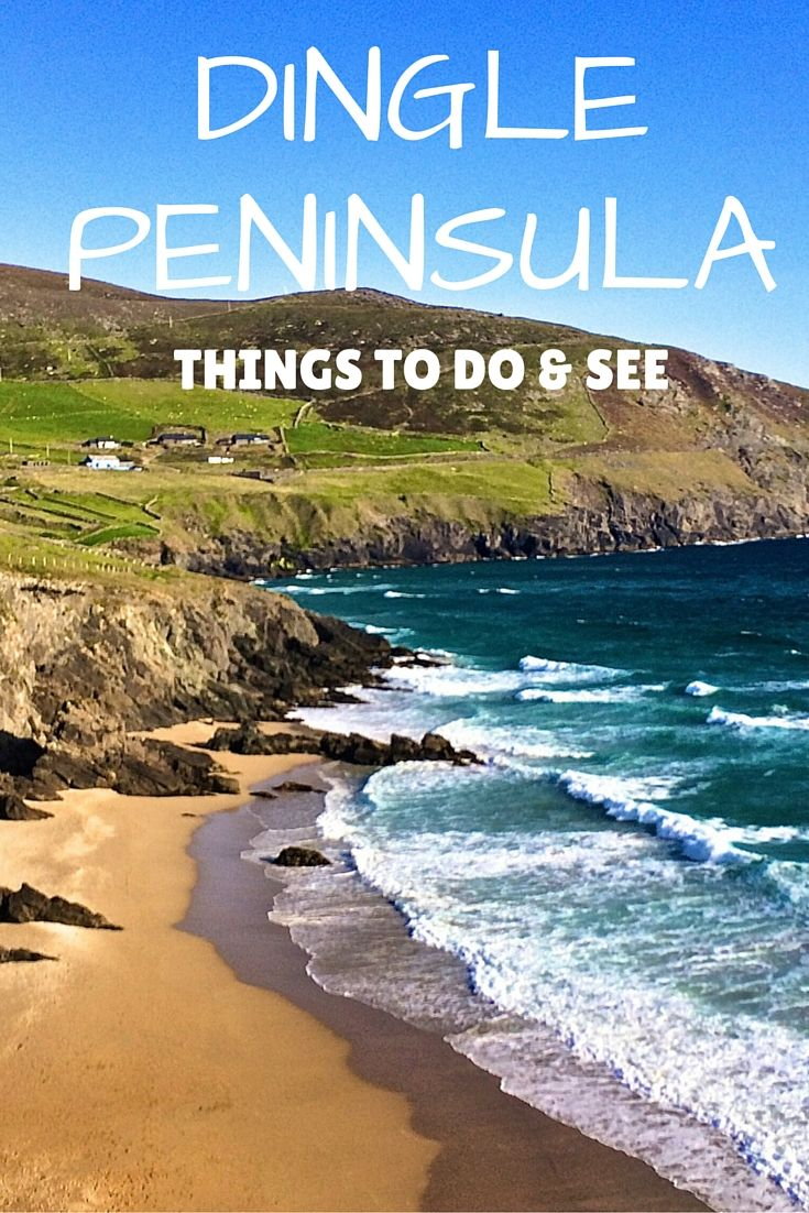 Dingle Peninsula, Ireland: Things to Do & See.  Click the pin to read the post from www.flirtingwiththeglobe.com