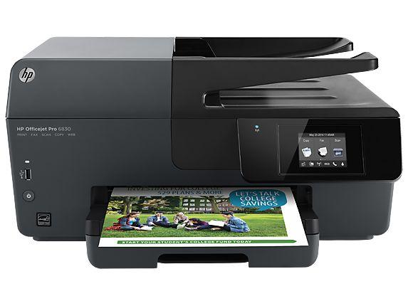HP Officejet Pro 6830 aio fax
