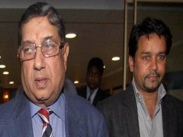 Kolkata: When in dire straits, join hands with your foe! The Anurag Thakur-N Srinivasan bonhomie at a meeting in Bengalure on Saturday strengthens the fact that mutual interests can make friends out of enemies.   ##Diggywrites #2016 Indian Super League Season #Anurag Thakur #BCCI #Champions League Schedule #Champions League T20 #Cricket News India #Cricket News Live #Current Sports News #Current Sports News Headlines #England India Match #England India Test Match #England I