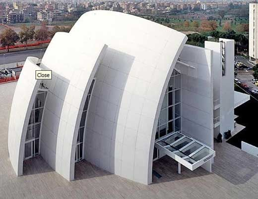 Jubilee Church, Rome    Architect: Richard Meier - Would love to experience these spaces some day!