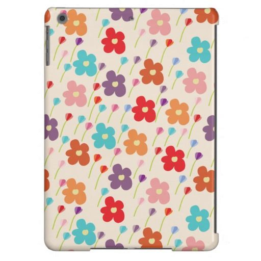 Case - Summer flowers iPad Air Covers