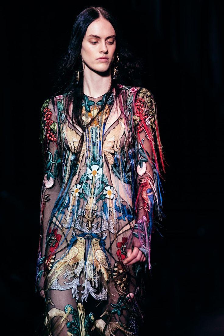 Sarah Burton for Alexander McQueen AW17 Photography Lillie Eiger