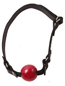 Small Red Ball Gag.