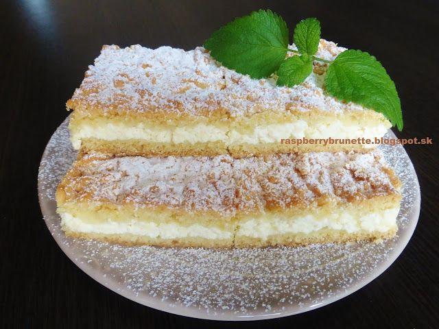 Raspberrybrunette: Krehký tvarohový koláč