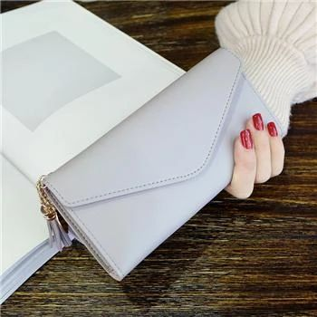 Frauen Geldbörsen Multifunktions PU Leder Damen lange Design Geldbörse weiblich Cardintothea