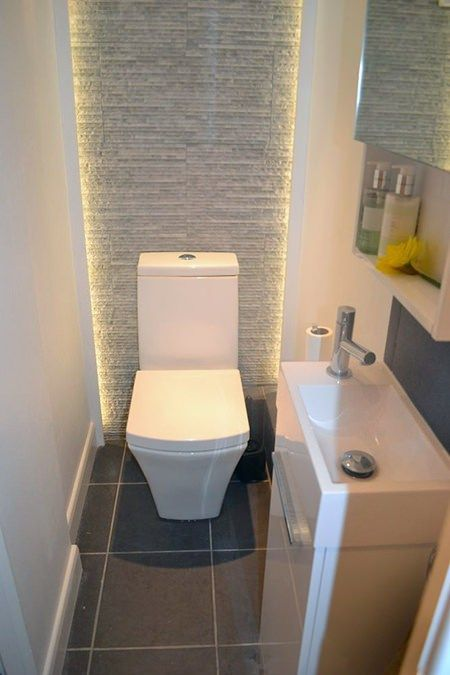 Recessed bathroom lighting
