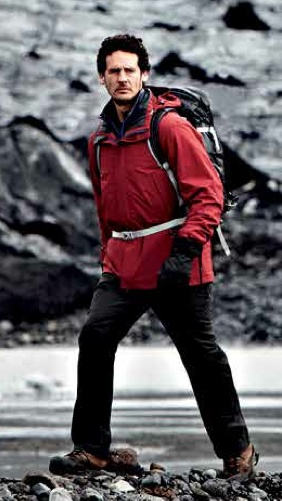 Mountain Guide Jacket and Striders Trousers.