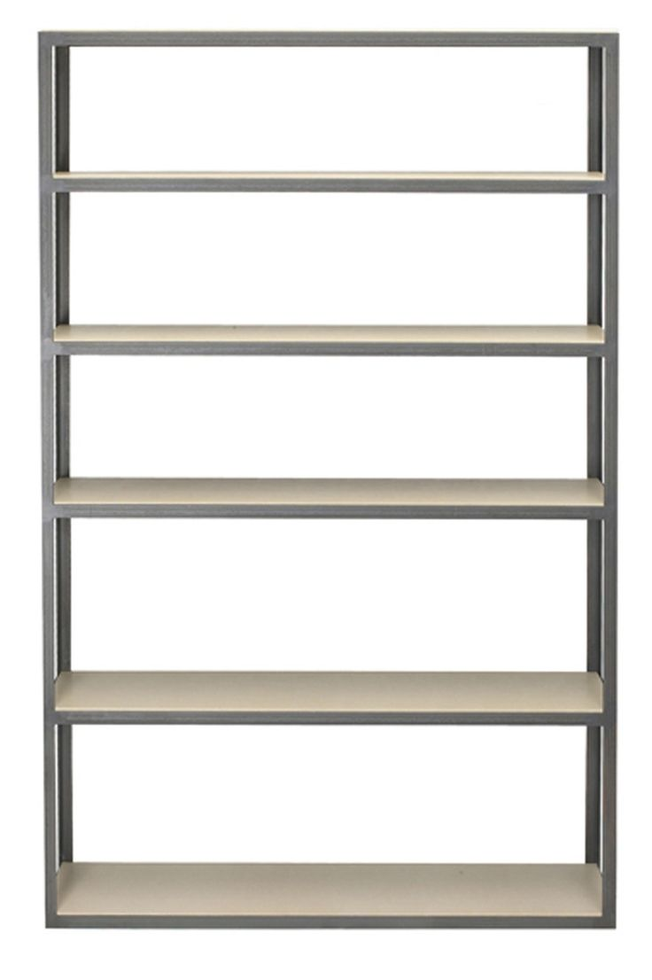 Bowery Shelves  Transitional, MidCentury  Modern, Leather, Bookcases  tagere by Desiron