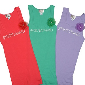 i am loving these come in many diff colors and bride, bridesmaid, maid of honor, matron of honor