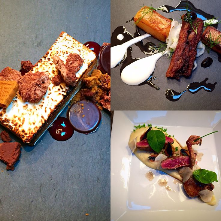 The stunning food from chef Sam Greensmith, chalet Abode chef for the third season 2015/16