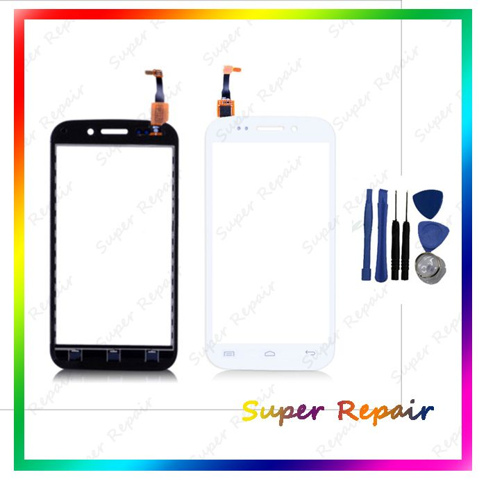 Белый черный цвет для Wiko лестница Capactive сенсорный экран планшета переднее стекло замена сенсорного экрана + инструмент бесплатная доставка