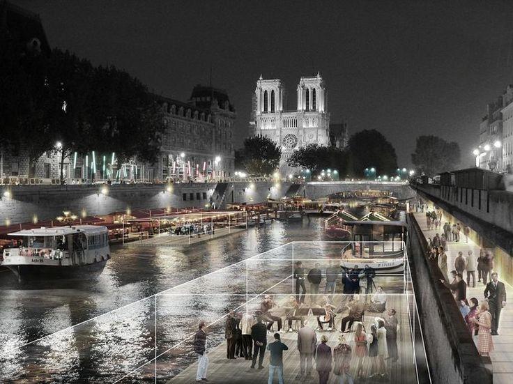 Le réaménagement autour de Notre Dame de Paris aurait pu reproduire le succès de Mitterrand avec ses grands travaux. Mais le projet dévoilé ce mardi est suspendu à la prochaine élection présidentielle et à la candidature de Paris aux Jeux olympiques2024.