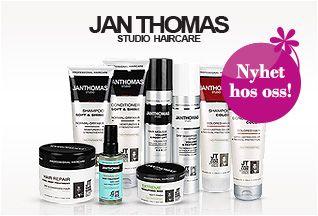 JAN THOMAS Studio Hair Care fra Blush. Om denne nettbutikken: http://nettbutikknytt.no/blush-no/