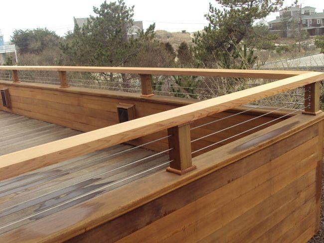 Simple and Modern Deck Railing Ideas