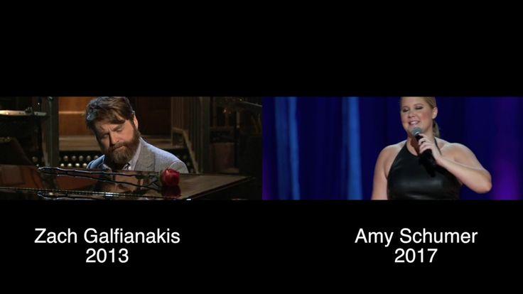 Amy Schumer blatantly steals a joke from Zach Galifianakis