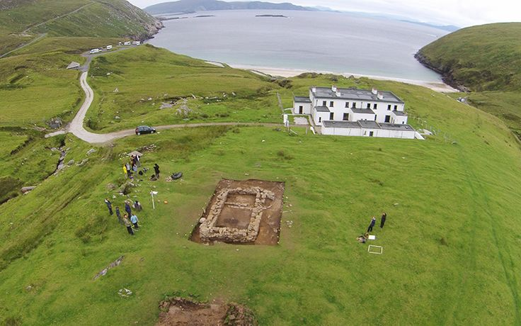 International team of archaeologists has uncovered details of the 40 abandoned and buried homes from the 1830s.